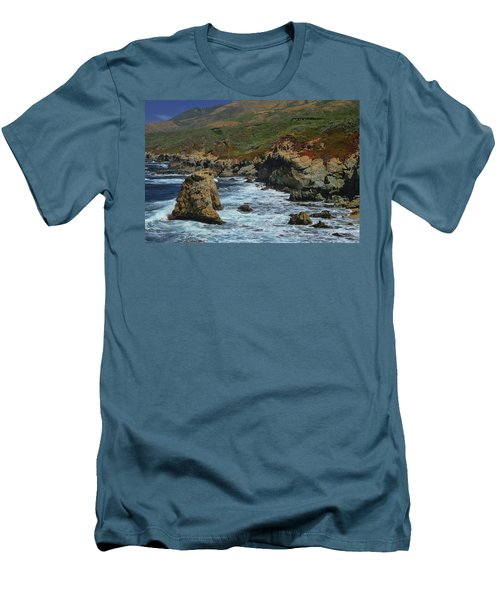 Big Sur 1 Men's T-Shirt (Slim Fit)