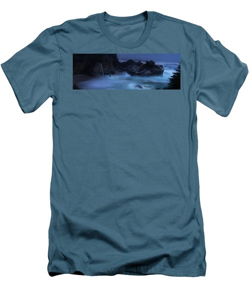 Men's T-Shirt (Athletic Fit) featuring the photograph Big Sur Night by Dustin LeFevre