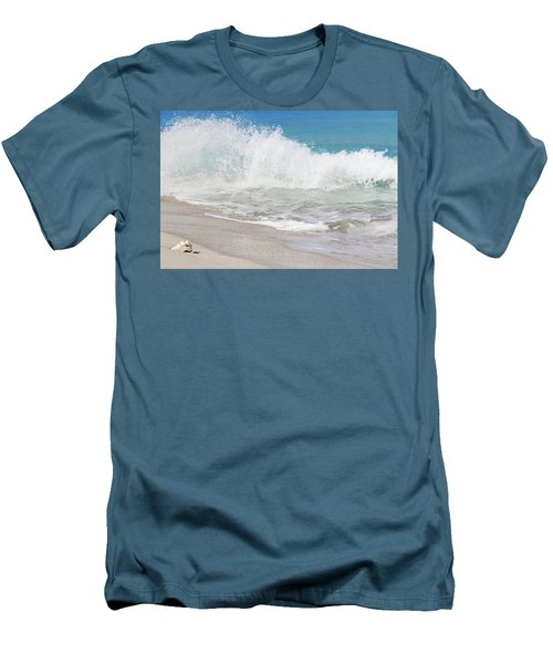 Bimini Wave Sequence 1 Men's T-Shirt (Athletic Fit)