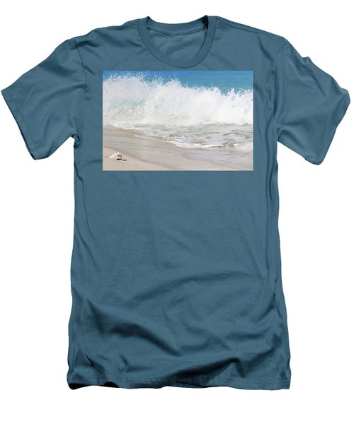 Bimini Wave Sequence 2 Men's T-Shirt (Athletic Fit)