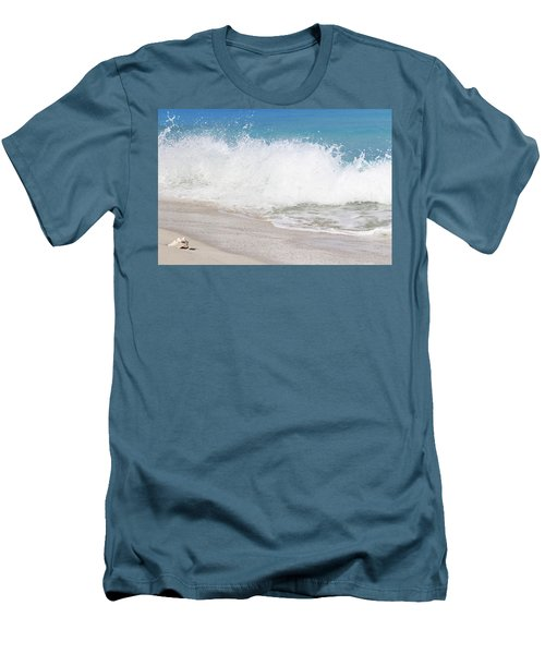 Bimini Wave Sequence 3 Men's T-Shirt (Athletic Fit)