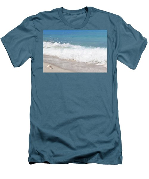 Bimini Wave Sequence 5 Men's T-Shirt (Athletic Fit)
