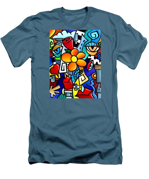 Biomechanical Love Men's T-Shirt (Slim Fit) by Tom Fedro - Fidostudio