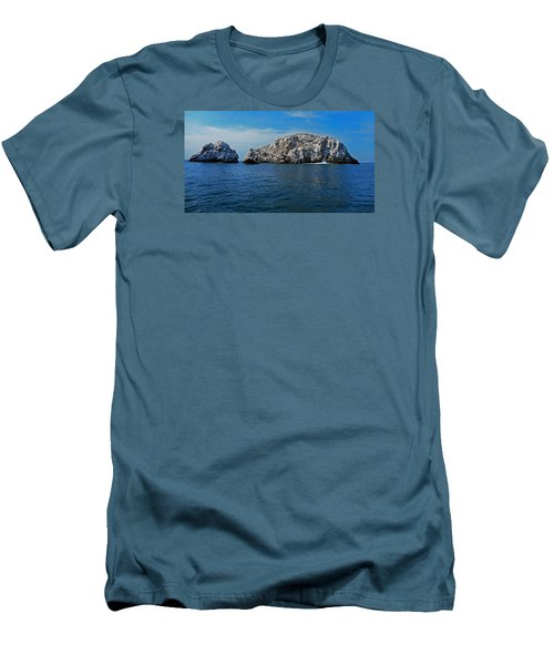 Bird Island 1 Men's T-Shirt (Athletic Fit)