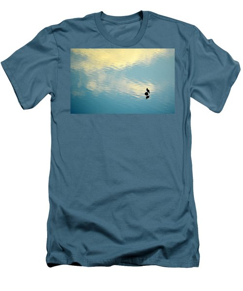 Bird Reflection Men's T-Shirt (Slim Fit) by AJ Schibig