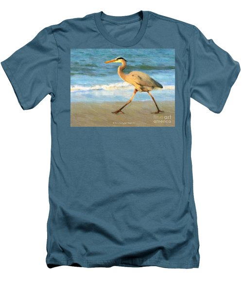 Bird With A Purpose Men's T-Shirt (Athletic Fit)