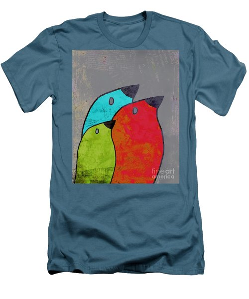 Birdies - V11b Men's T-Shirt (Slim Fit) by Variance Collections