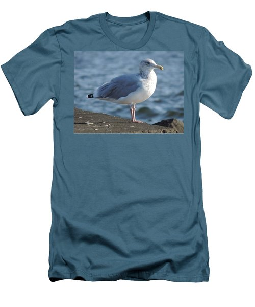 Birds In The Air  Men's T-Shirt (Athletic Fit)