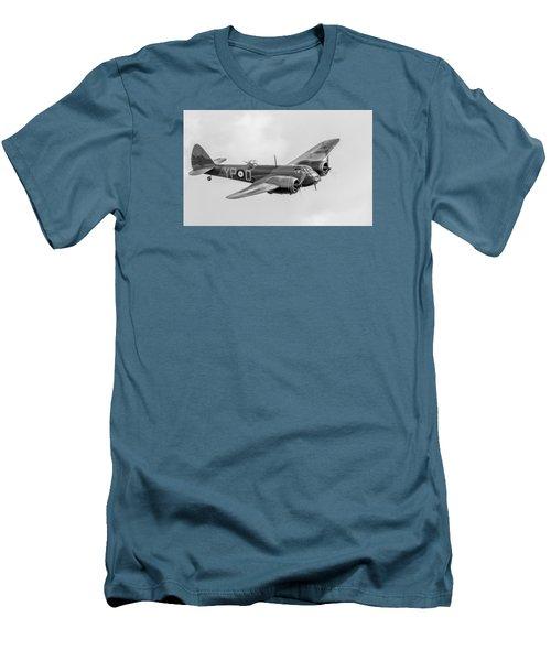 Blenheim Mk I Black And White Version Men's T-Shirt (Slim Fit) by Gary Eason
