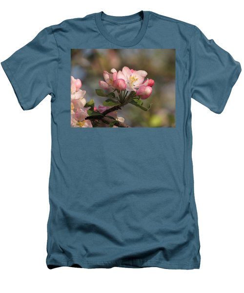 Men's T-Shirt (Slim Fit) featuring the photograph Blooming by Kimberly Mackowski