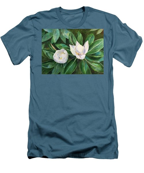 Blossoms In The Sunlight Men's T-Shirt (Athletic Fit)