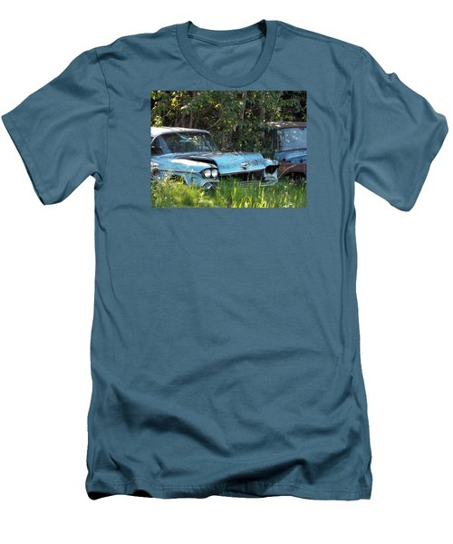 Blue Cadillac Men's T-Shirt (Athletic Fit)