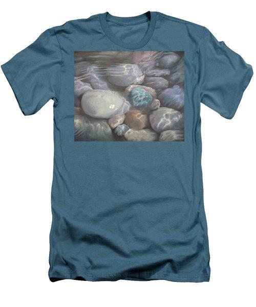 Blue Calm Men's T-Shirt (Athletic Fit)