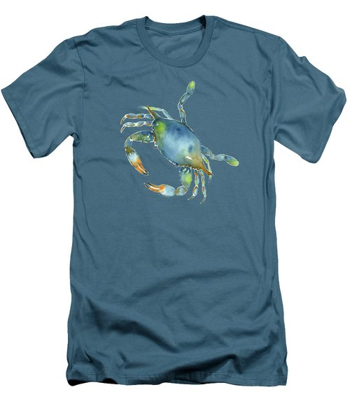 Blue Crab Men's T-Shirt (Athletic Fit)