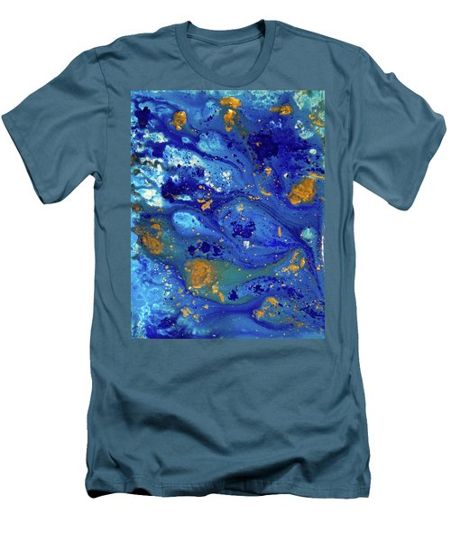 Blue Dream Men's T-Shirt (Slim Fit) by Sean Brushingham