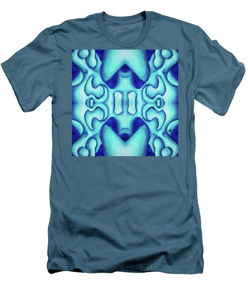 Blue Dream Men's T-Shirt (Slim Fit) by Versel Reid