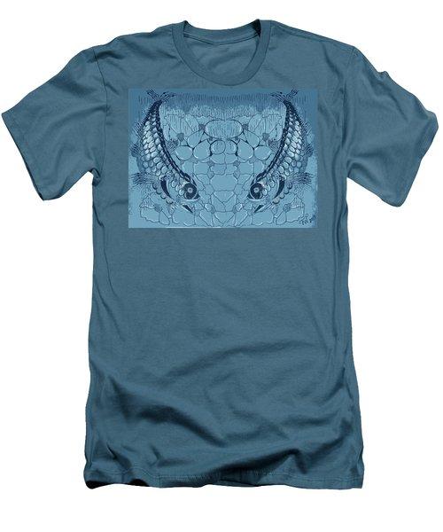Blue Fish Men's T-Shirt (Slim Fit)