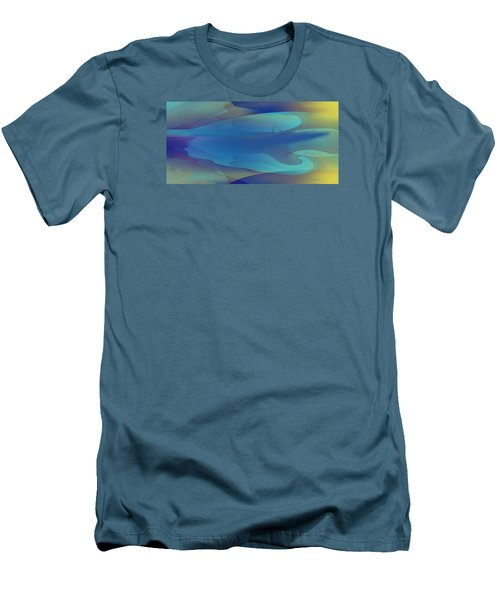 Blue Fog I Men's T-Shirt (Slim Fit) by David Klaboe