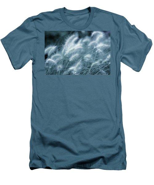 Blue Gras Men's T-Shirt (Athletic Fit)
