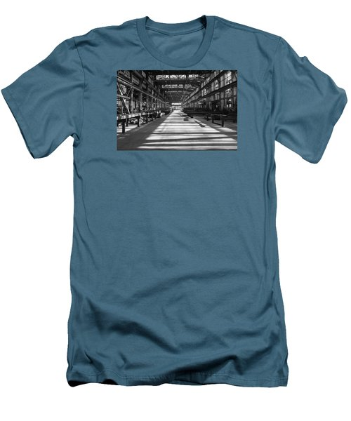 Blue Home Factory Men's T-Shirt (Slim Fit) by Catherine Lau