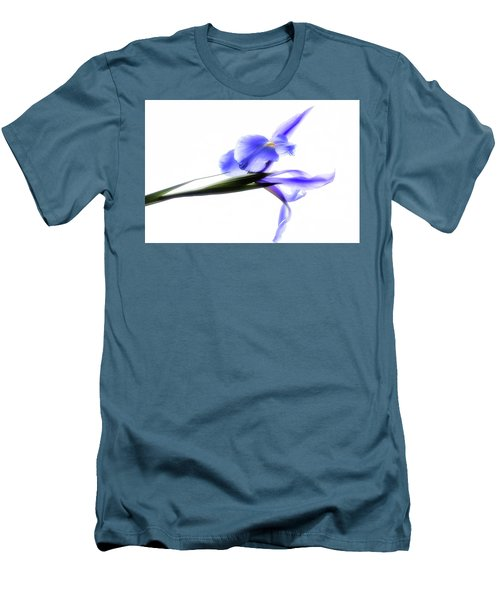 Blue Iris For Irma Men's T-Shirt (Athletic Fit)