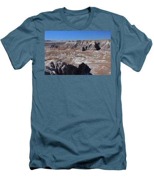 Men's T-Shirt (Slim Fit) featuring the photograph Blue Mesa by Gary Kaylor