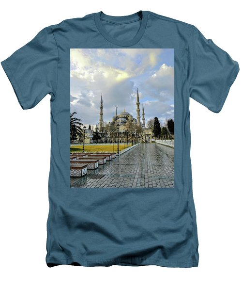 Blue Mosque Men's T-Shirt (Athletic Fit)