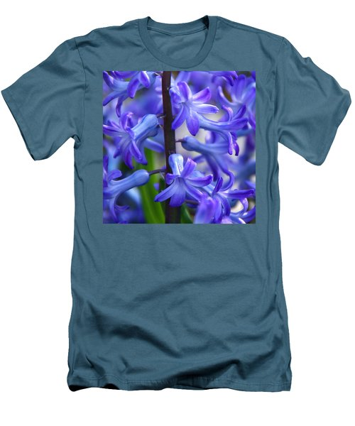 Men's T-Shirt (Slim Fit) featuring the photograph Blue Rhapsody by Byron Varvarigos
