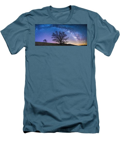 Blue Ridge Milkyway Men's T-Shirt (Athletic Fit)