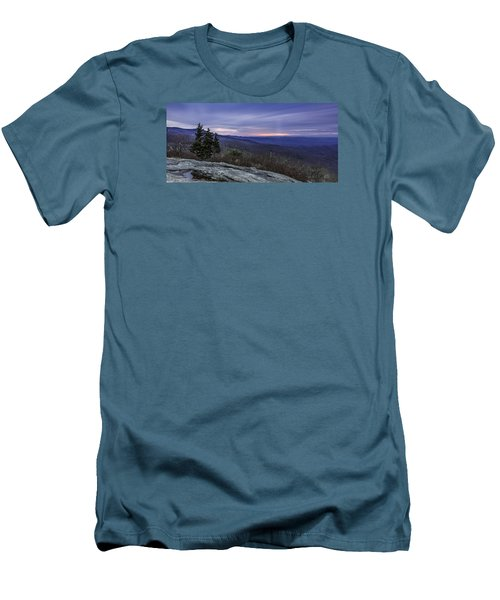 Blue Ridge Parkway Sunrise Men's T-Shirt (Athletic Fit)