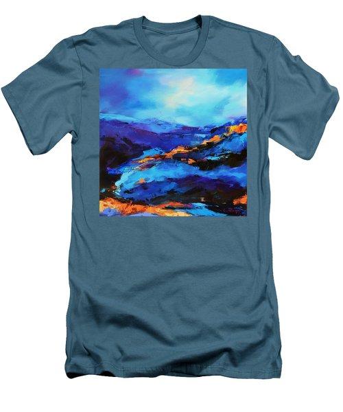 Blue Shades Men's T-Shirt (Athletic Fit)