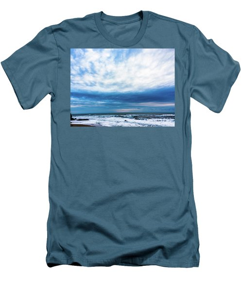Emotion And Departure At Half Moon Bay Men's T-Shirt (Athletic Fit)