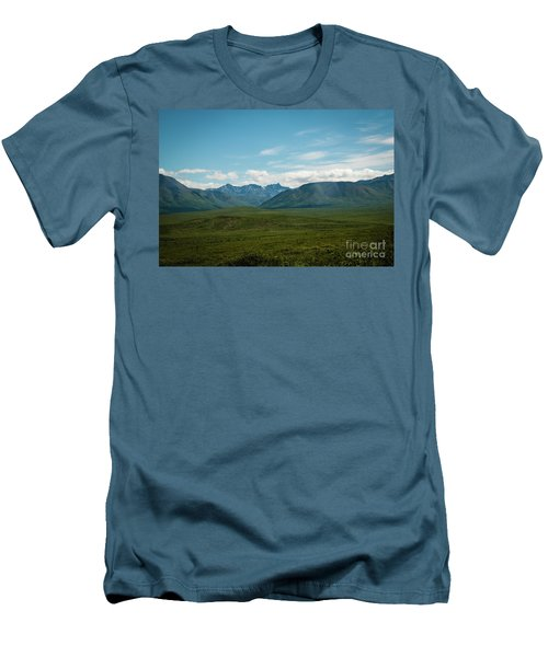Blue Sky Mountians Men's T-Shirt (Athletic Fit)