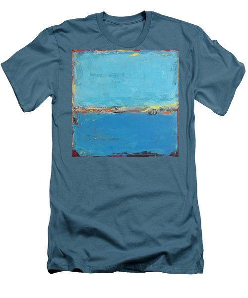 Blue World Men's T-Shirt (Athletic Fit)