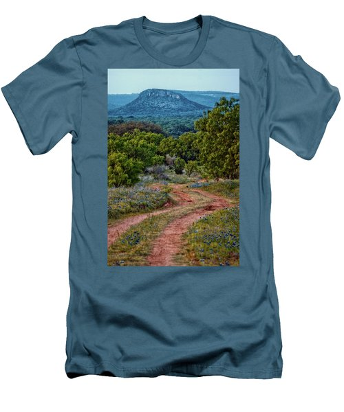 Bluebonnet Road Men's T-Shirt (Athletic Fit)
