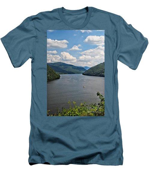 Bluestone Lake - Hinton West Virginia Men's T-Shirt (Athletic Fit)
