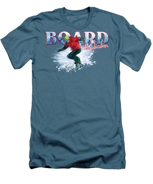 Board Addiction Men's T-Shirt (Slim Fit) by Rob Corsetti