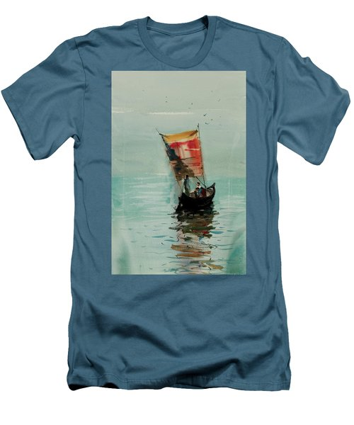 Boat Men's T-Shirt (Athletic Fit)