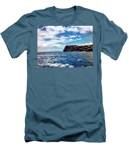 Boat Life Men's T-Shirt (Slim Fit) by Michael Albright