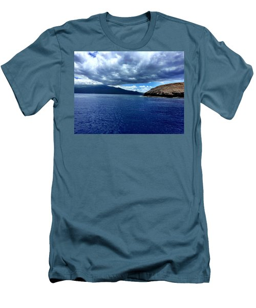 Boat View 3 Men's T-Shirt (Slim Fit) by Michael Albright