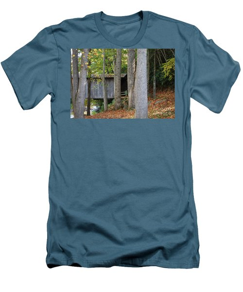 Men's T-Shirt (Slim Fit) featuring the photograph Bob White by Eric Liller