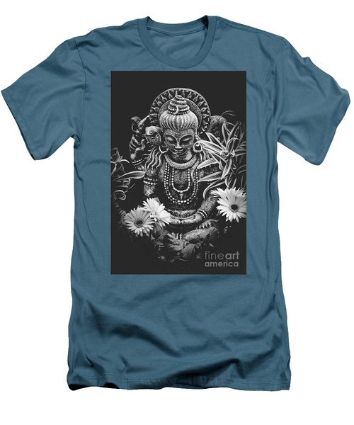 Bodhisattva Parametric Men's T-Shirt (Slim Fit) by Sharon Mau