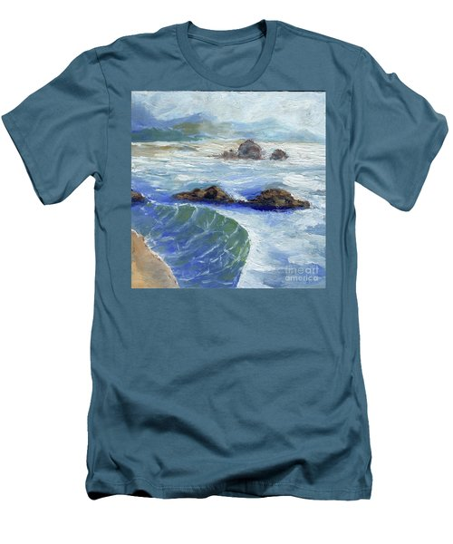 Bodiga Bay #2 Men's T-Shirt (Slim Fit) by Randy Sprout