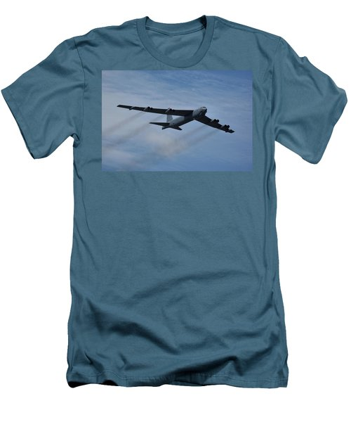 Men's T-Shirt (Slim Fit) featuring the photograph Boeing B-52h Stratofortress by Tim Beach