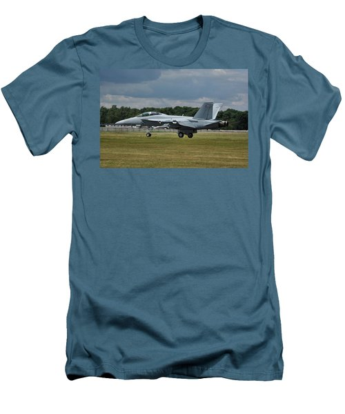 Boeing Super Hornet  Men's T-Shirt (Slim Fit) by Tim Beach