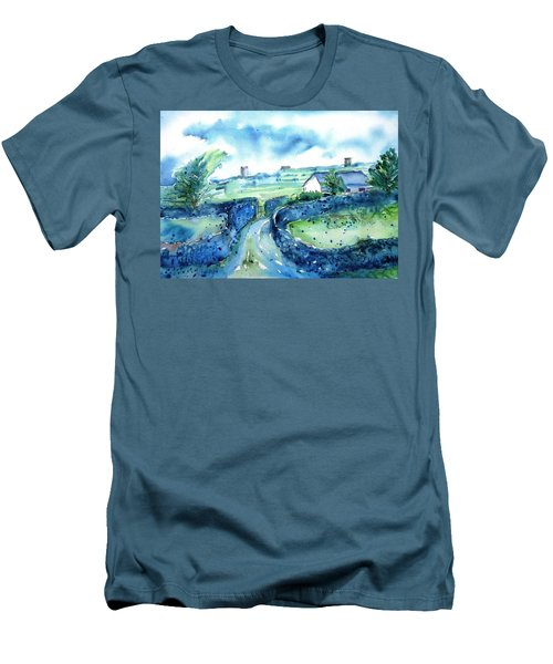Boithrin Inisheer Men's T-Shirt (Slim Fit) by Trudi Doyle