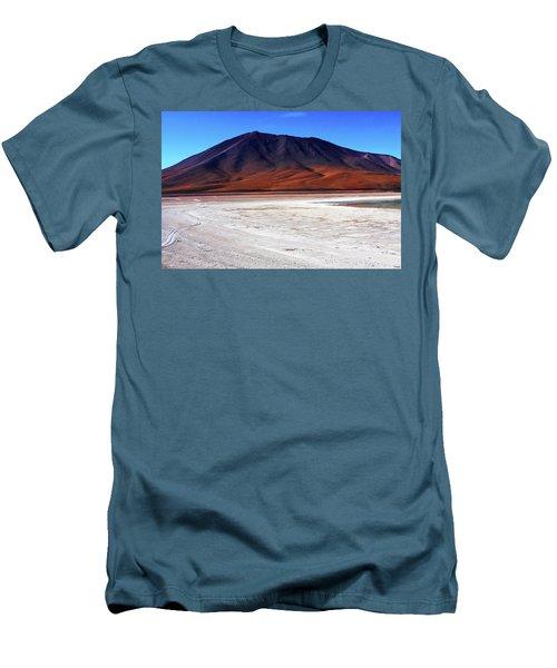 Bolivian Altiplano, South America Men's T-Shirt (Slim Fit) by Aidan Moran