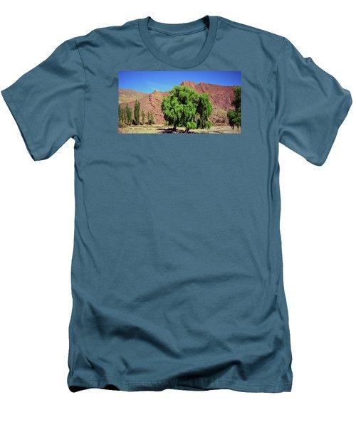 Bolivian Landscape  Men's T-Shirt (Athletic Fit)