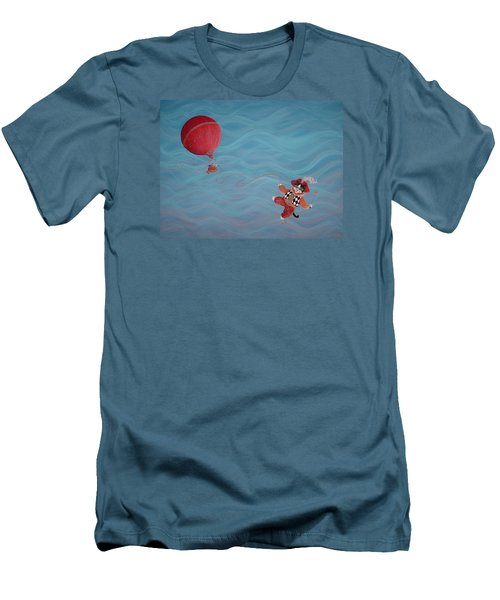 Bon Voyage Men's T-Shirt (Slim Fit) by Dee Davis