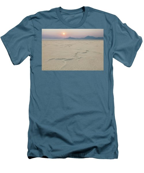 Bonneville Salt Flats Men's T-Shirt (Athletic Fit)